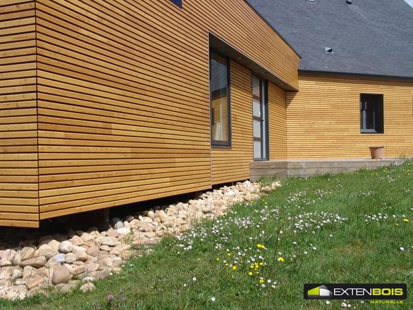Bardage - extension bois
