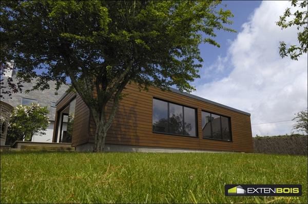 Extension de votre maison  en ossature bois
