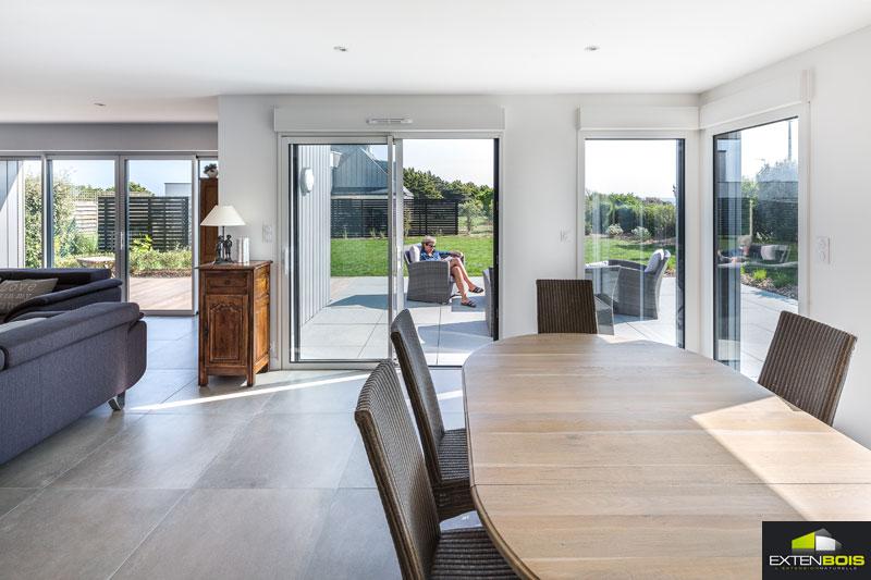 extension bois une extension bois pour agrandir votre maison. Black Bedroom Furniture Sets. Home Design Ideas