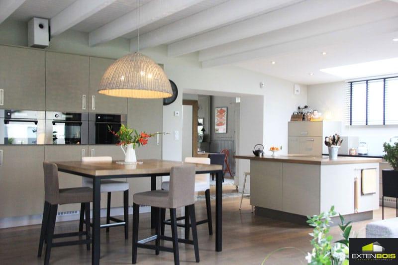 Une extension pour d cloisonner l espace de vie - Extension maison design ...