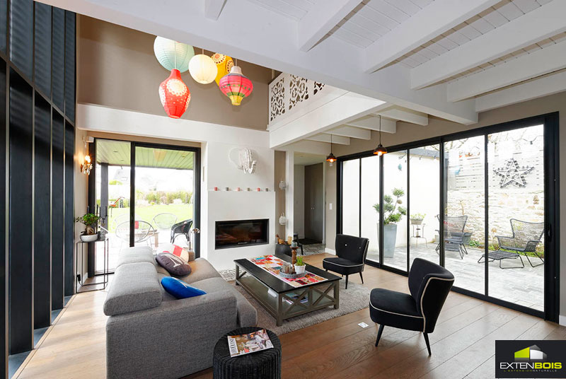 extension bois tout en hauteur chez florence extenbois l extension bois pour agrandir votre. Black Bedroom Furniture Sets. Home Design Ideas
