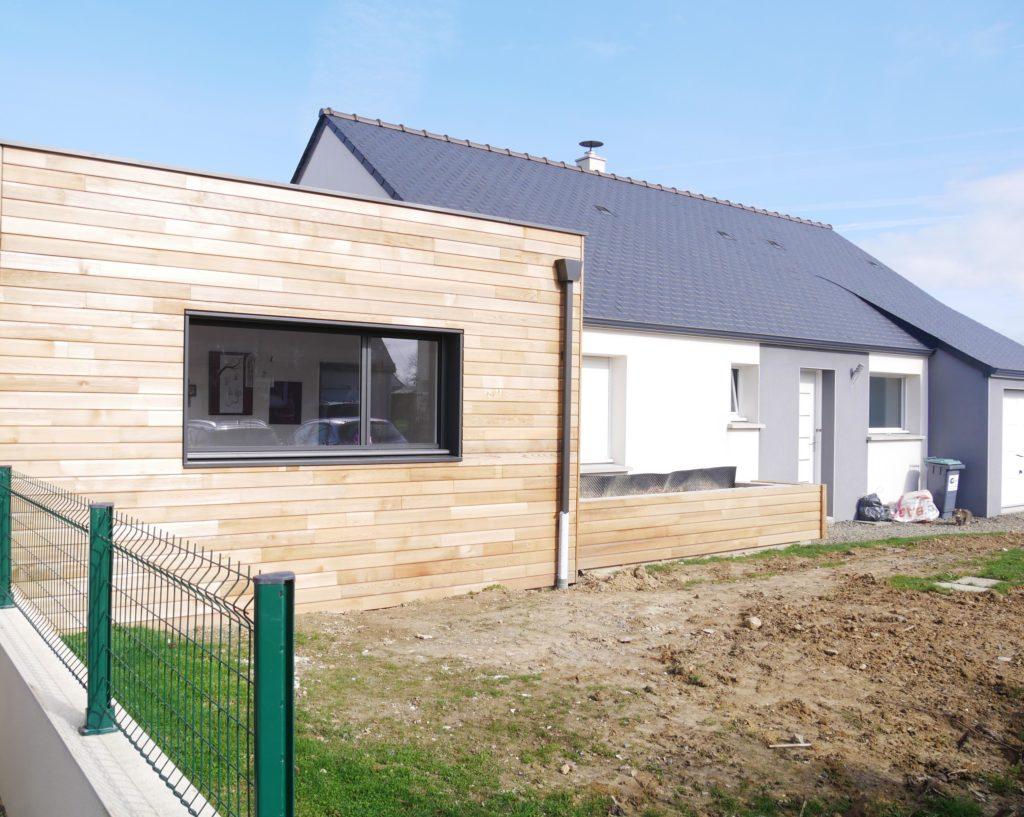 l'un des points clés de la réussite d'une extension est son harmonisation dans l'architecture actuelle de la maison.