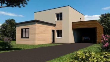 Projet d'extension à ossature bois à Trévérien en Ille et Vilaine
