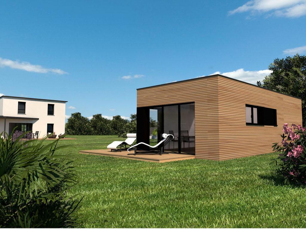 Studio de jardin pour accueillir une habitation