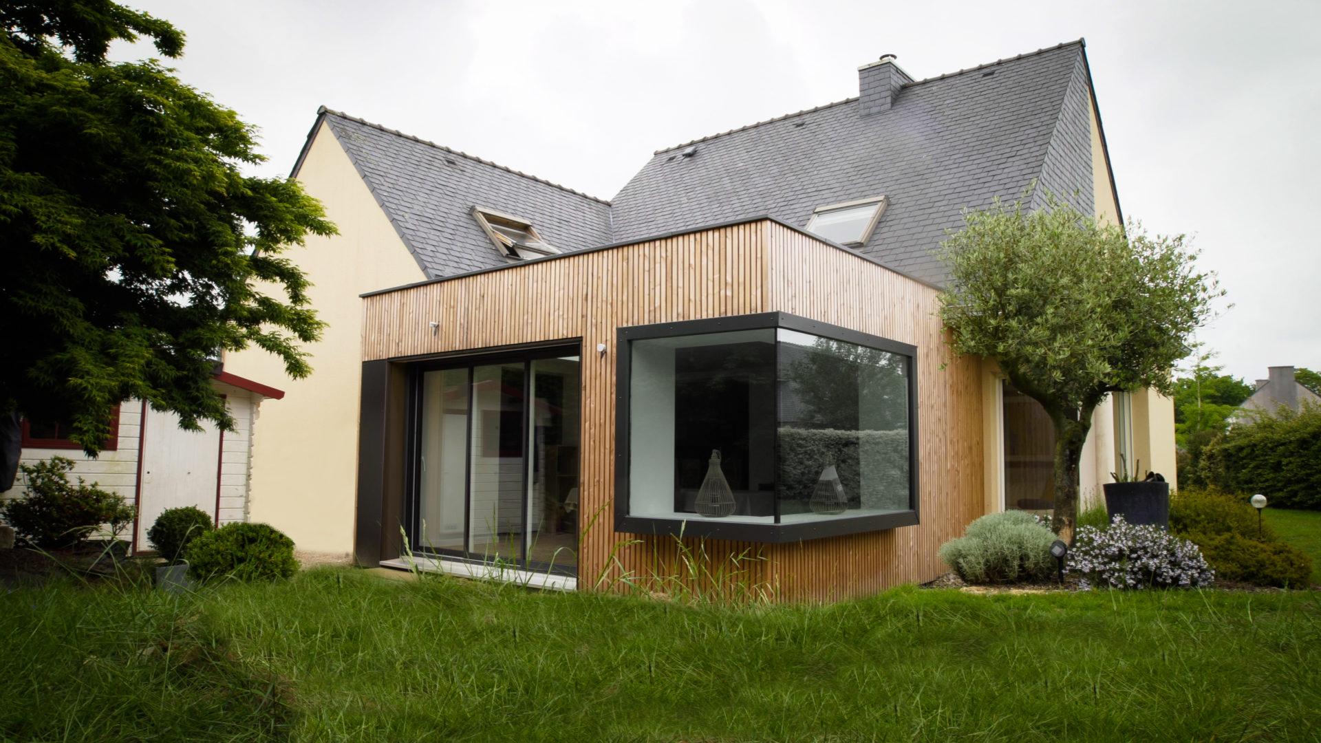 Constructeur Maison Toulouse Prix extenbois connaît un succès croissant de ses extensions bois