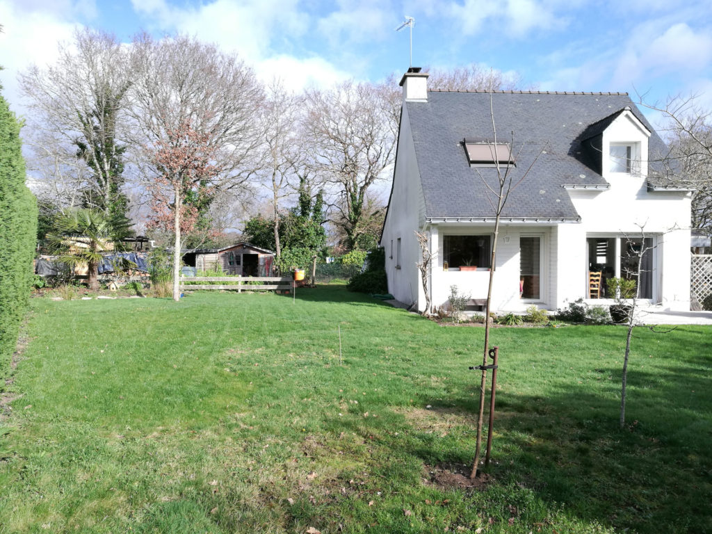 Maison à Saint-Philibert avant l'extension