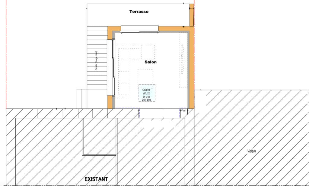 plan extension Quimper