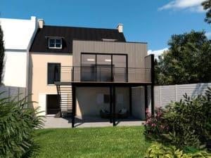 Projet extension à Quimper - Première possibilité