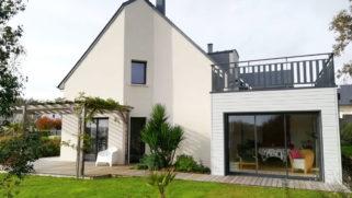 Extension neuve rattachée à une maison à Baden