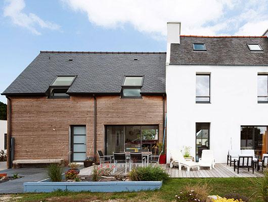Une extension de maison pour plus d'espace