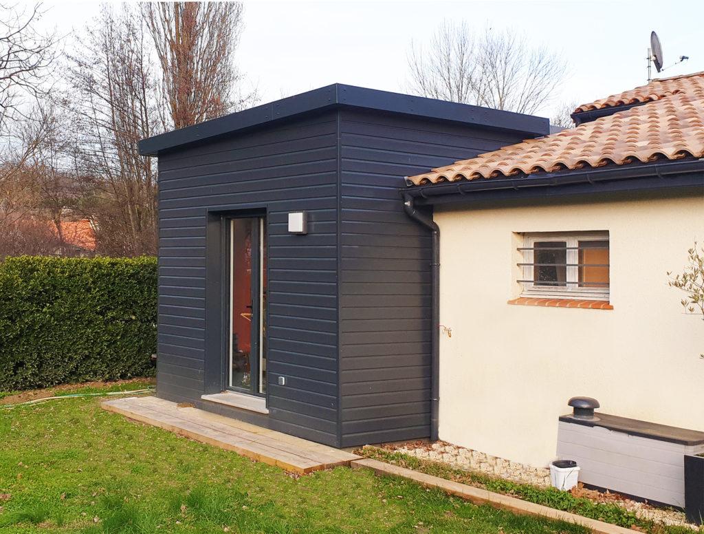 Agrandissement Maison Néo Bretonne réalisations extensions bois - extenbois