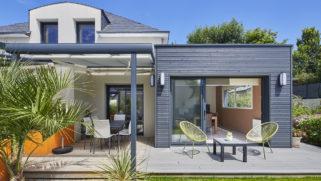 Une extension de maison moderne et durable