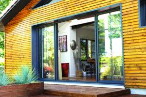 Une façade en bois