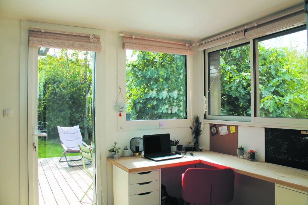 extension chambre et bureau