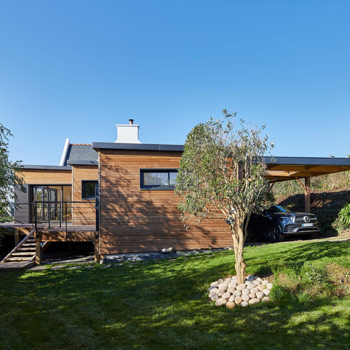 Extension maison bois Extenbois